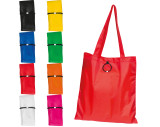 Foldable shopping bag in polyester