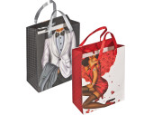 Gift bag man/woman with a crystal