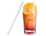 Straw made of glass 15 cm